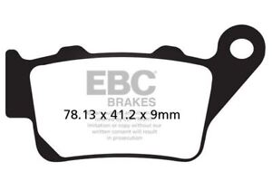 FIT Zero ZERO FX (ZF3.3/ZF6.5) 16>17 EBC Sintered Pad Set Right