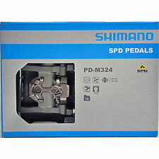 NEW 2018 Shimano Multi-Purpose Dual Sided SPD Platform Pedals & Cleats PD-M324