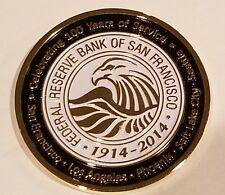 Federal Reserve Police 12th District Bank of San Francisco 100th Anniversary