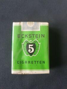 """Alte volle Zigarettenschachtel """"Eckstein No5"""" ungeöffnet/sealed 20 St. Softpack"""