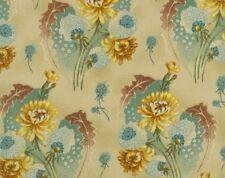 BOLT END Cotton Quilting Fabric #1154 RJR Pandolph's Maison Bleue  1 1/2 Yards