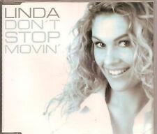 LINDA - don't stop movin CDM 6TR Eurodance 2002 RARE!!