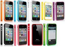 COVER CUSTODIA IPHONE 4G 4GS TPU GEL FLESSIBILE BUMPER NO  LOTTO STOCK