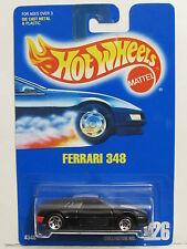 HOT WHEELS 1991 BLUE CARD FERRARI 348 #226