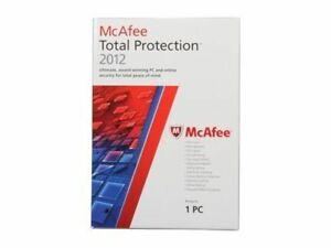 McAfee Total Protection 2012 1PC