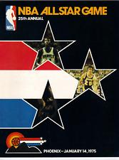 1975 NBA All Star program