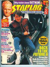Starlog No.150 MICHAEL J.FOX BACK TO THE FUTURE,,QUANTUM LEAP,PHILIP K.DICK