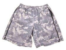 SUPER RARE Lululemon Pace Breaker Short Gray Camo Camouflage Print sz S