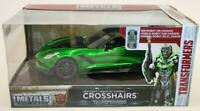 Jada 1/24 Scale 98499 Transformers Metal Car Chevy Corvette Stingray Crosshairs
