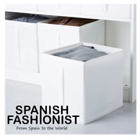 IKEA SKUBB Box storage, white, 31x34x33 cm x 3 piece