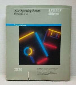 IBM Disk Operating System Version 3.30