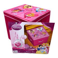 36L 33x33cm Disney Princess Collapsible Storage Box Toy Organiser