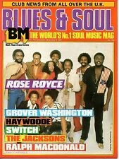 Rose Royce Blues & Soul 1984   Marlon Jackie Jackson   Grover Washington  Switch