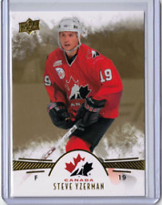 STEVE YZERMAN 16/17 Upper Deck Team Canada Legend #98 GOLD PARALLEL SP Card