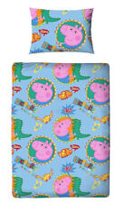 Character World Peppa Pig George Junior Cot Bed Duvet Cover Set