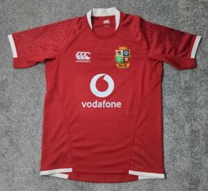 British and Irish Lions Rugby Pro Jersey South Africa 2021 Size Large Vodafone