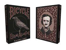 CARTE DA GIOCO BICYCLE EDGAR ALLAN POE,poker size