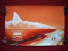 Jaws Mondo Phantom City Original Movie Poster Art Print Variant 1975 Halloween