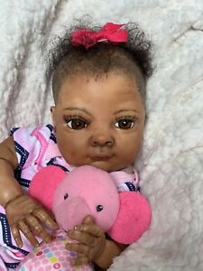 Ooak Reborn newborn baby Girl  reborn baby  VanessA  Art doll