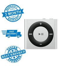 Apple iPod Shuffle 2GB 4th Gen Silver MP3 + 3 Months Warranty **FREE UK P&P**