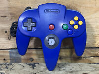 NINTENDO 64 N64 Authentic Blue Controller OEM