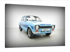 Mk1 Ford Escort RS2000 - 30x20 Inch Canvas - Framed Picture Print Art