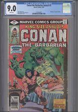 Conan the Barbarian KS Annual #5 CGC 9.0 1979  Wedding Conan, Zenobia: New Frame