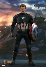 """Hot Toys 1/6th Scale MMS536 Avengers: Endgame Captain America 12"""" Action Figures"""