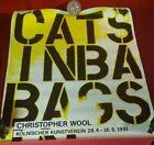 Christopher Wool CATS IN BAG, 1991Kolnischer Kunstvere Gallery Exhibition Poster