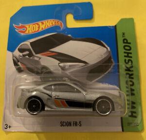 Hotwheels - Scion FR-S HW Workshop Silver Short Card Rare