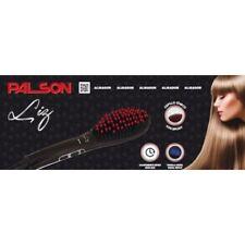 PALSON Electric Hair Straightening Brush & LCD Temperature Lock Function Ceramic