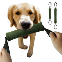 K9 Police Dog Bite Chew Tug Green Army Training Tug Aggressive Chew Tug Toys
