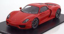 Spark 2014 Porsche 918 Spyder Street Version Red 1:18*In Stock Now!