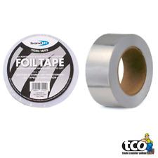 2 X Bond it Aluminium Feuille Isolation Bande Membrane 50/75/100mm X 45m