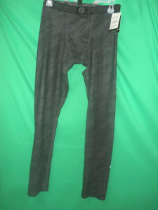 Champion Duo Dry Power Core Compression Boys' Gray Athletic Pants size XL (B139)