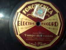 """78 giri G. SARI tenore """" MANON - TANGO DEL VENTO """" FONOTECNICA ELETTRO RECORD"""