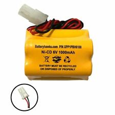 Interstate Batteries NIC0099 Ni-CD Battery Pack Replacement for Emergency / Exit