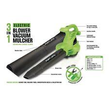 3-In-1 Electric Leaf Blower Vacuum Mulcher Lightweight Shredder FREE SHIPPING