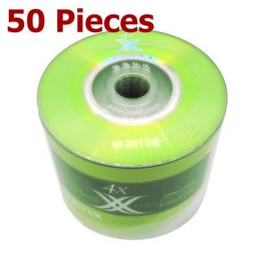 Mini DVD-R 4x 8cm MiniDiscs 1.4 GB Blank DVD Recordable Discs 1.4GB - 50 Pieces