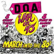 D.O.A. WAR ON 45 SUDDEN DEATH RECORDS VINYLE NEUF NEW VINYL REPRESS