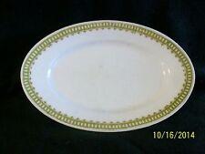 Vintage M. W. Co. Royal Saxony China Platter in Loraine Pattern