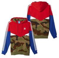 New Originals Adidas Camo Jacket Multicolor Red Hoodie Camouflage AY8106