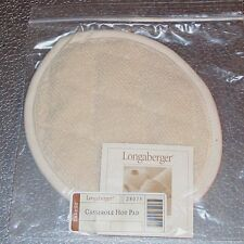 Longaberger Protective SMALL OVAL HOT PAD ~ 6 x 8