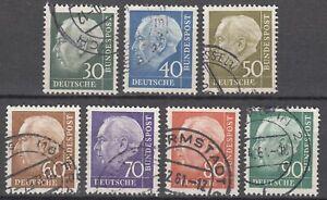 BRD 1956 Mi. Nr. 259-265 Gestempelt LUXUS!!!