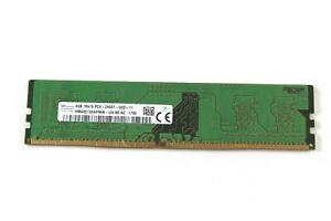 16GB (4x4GB) SK Hynix PC4-2400T 1Rx16 DDR4 Desktop Memory HMA851U6AFR6N-UH