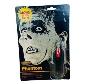 Remco Universal Monsters Phantom Opera Glows Dark Action Figure 1980 Card Vtg