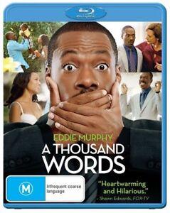 A Thousand Words (Blu-ray, 2013) Region B - NEW+SEALED