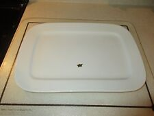 """Rynnes Brasserie Williams Sonoma White Porcelain Rectangular Platter NEW 16""""x11"""""""