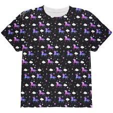 Galaxy Unicorn Pattern All Over Youth T Shirt