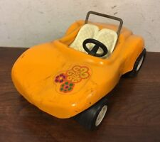 Vintage Tonka Dune Buggy Flower Sticker Retro Pressed Steel Toy